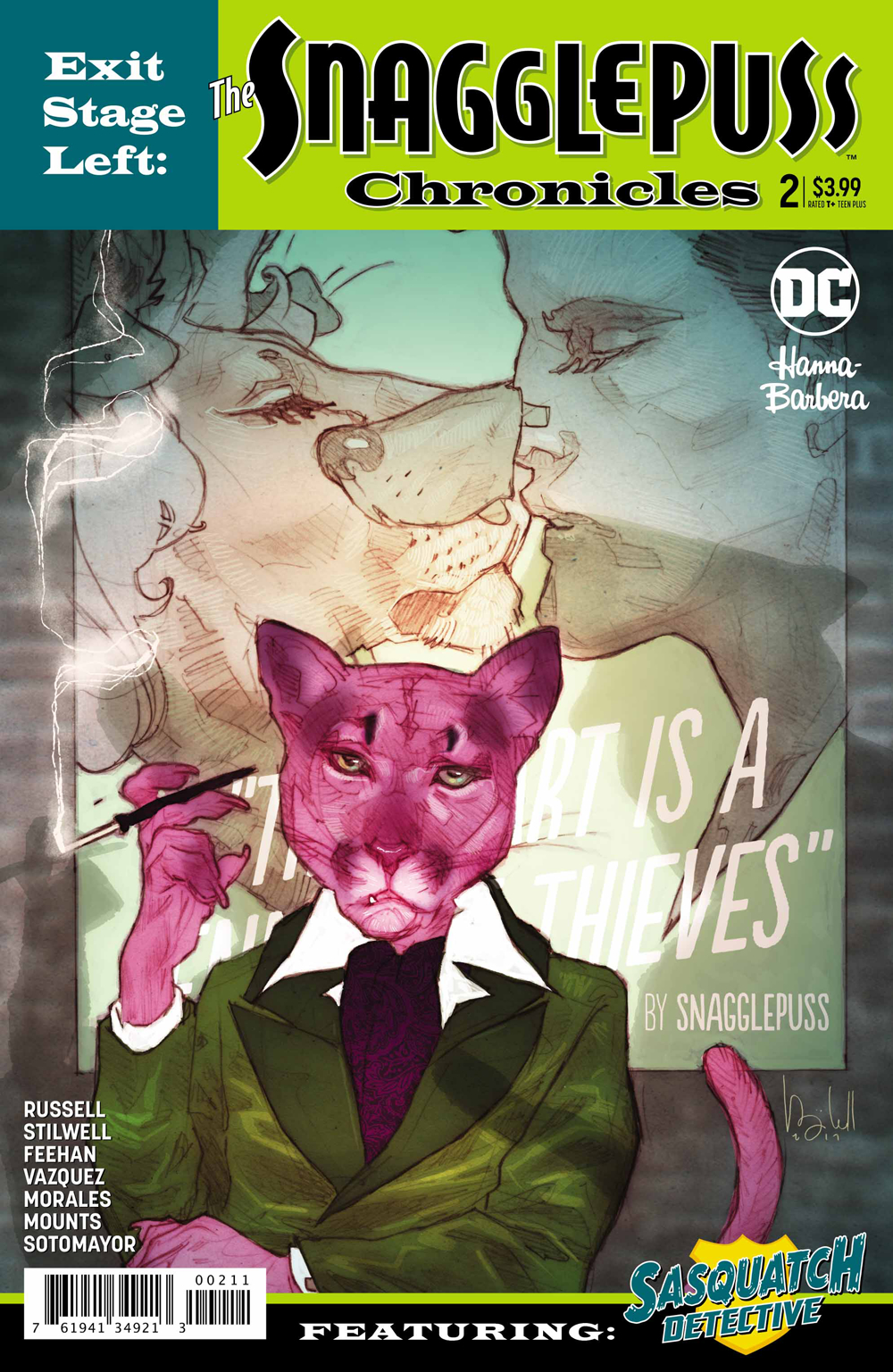 EXIT STAGE LEFT THE SNAGGLEPUSS CHRONICLES #2