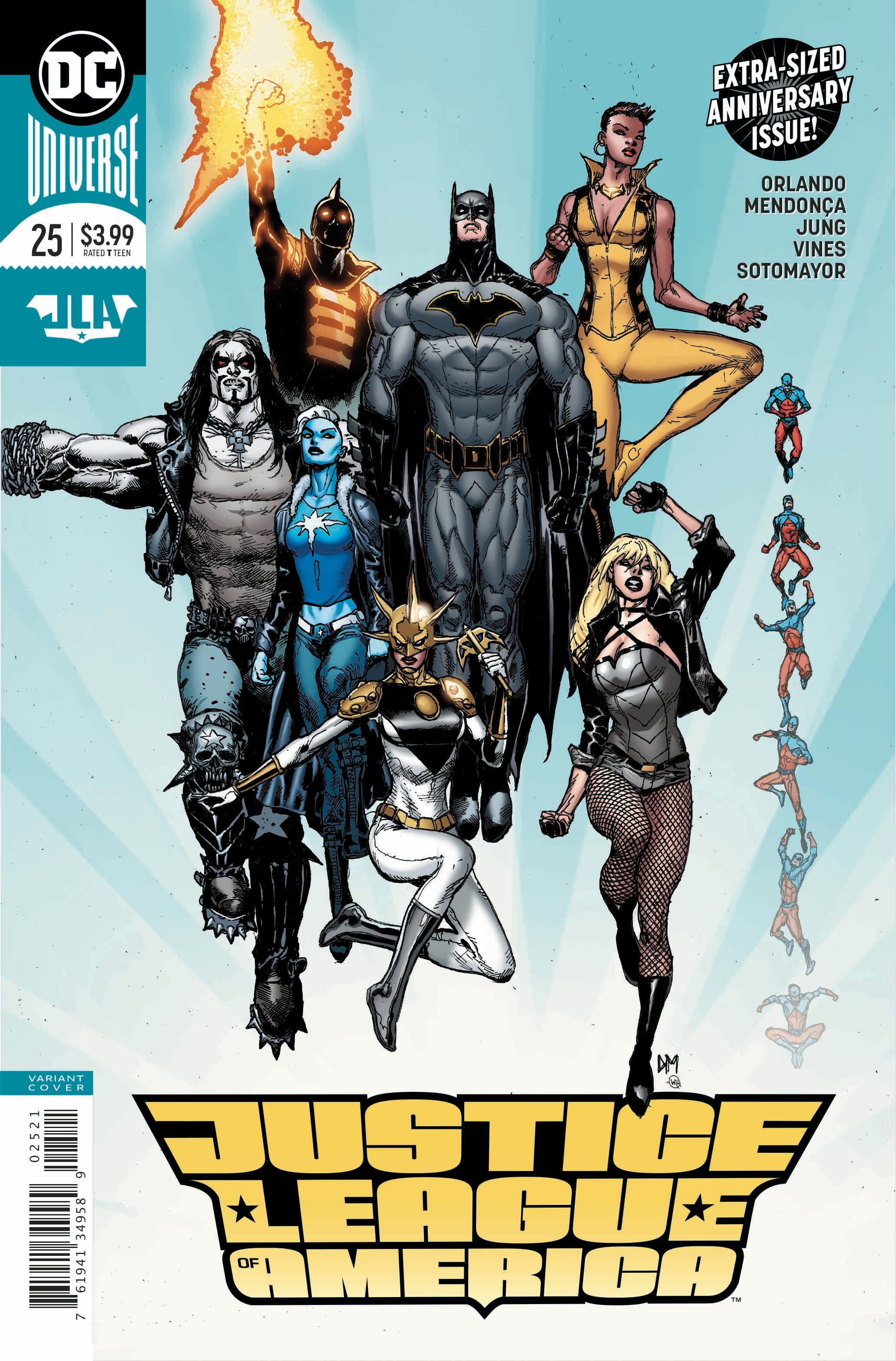 JUSTICE LEAGUE OF AMERICA #25 VAR ED