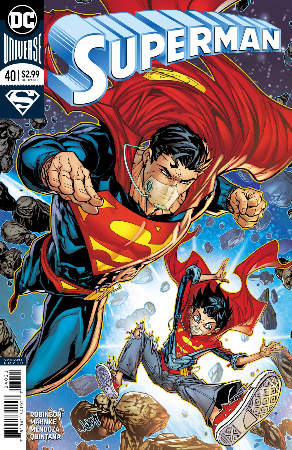 SUPERMAN #40 VAR ED