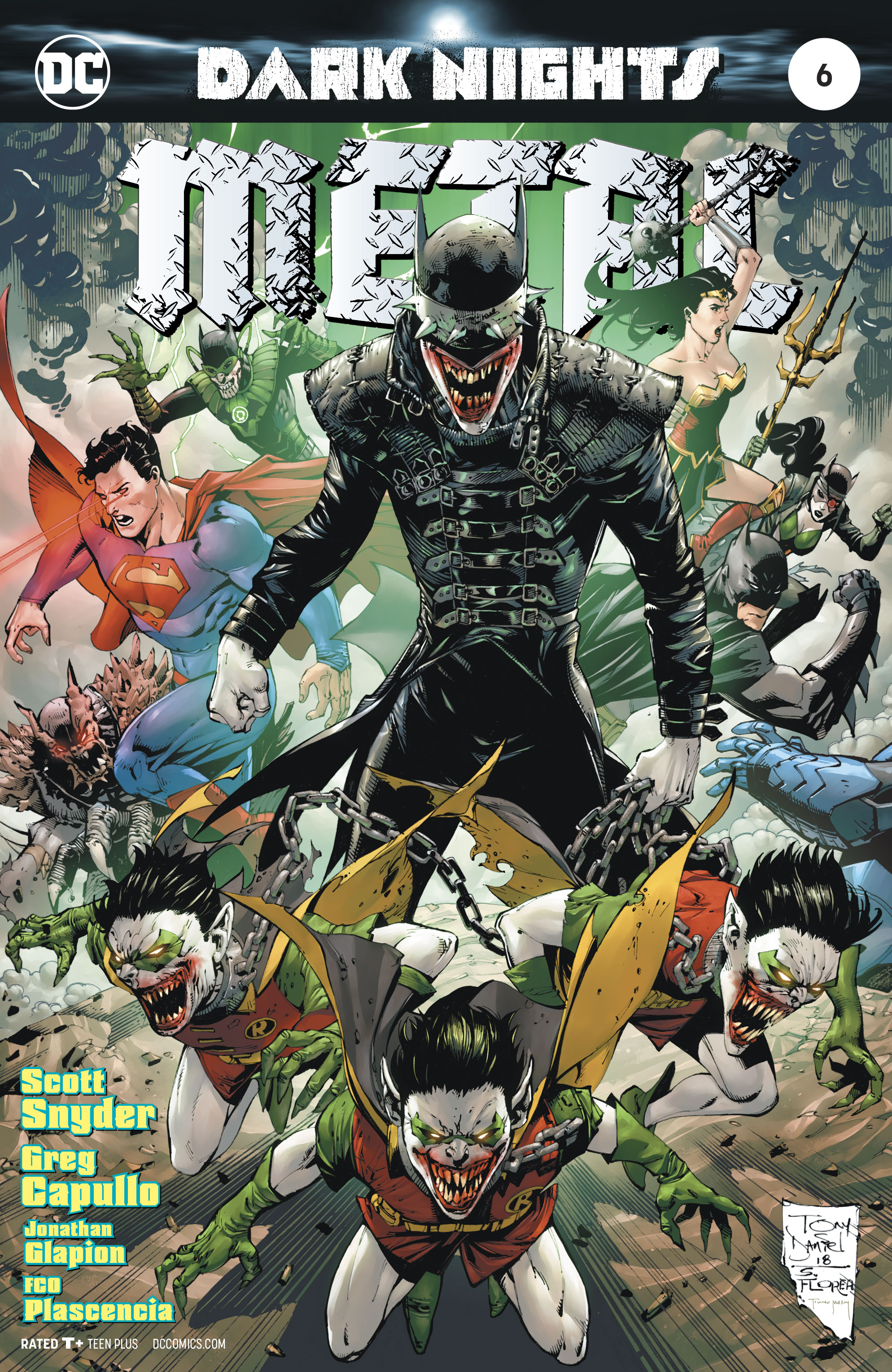DARK NIGHTS METAL #6 (OF 6) DANIEL VAR ED