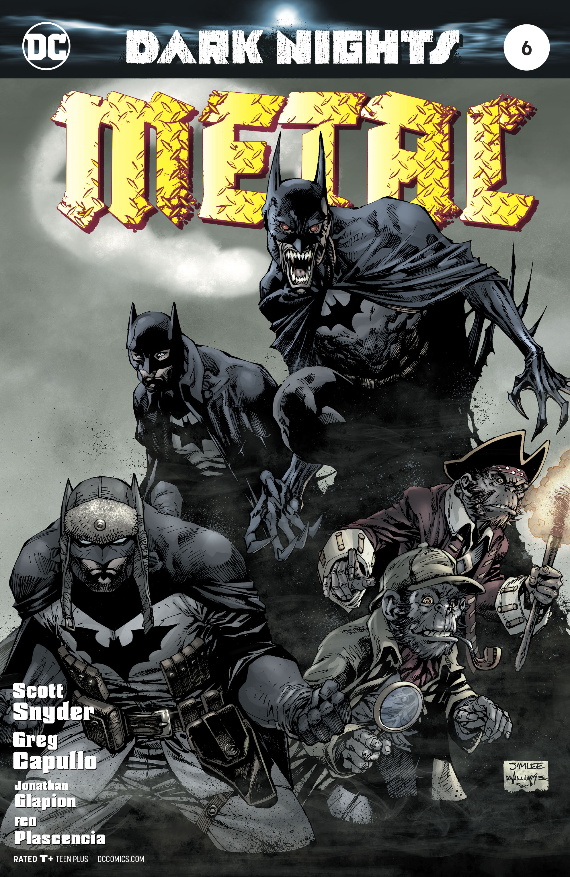 DARK NIGHTS METAL #6 (OF 6) LEE VAR ED