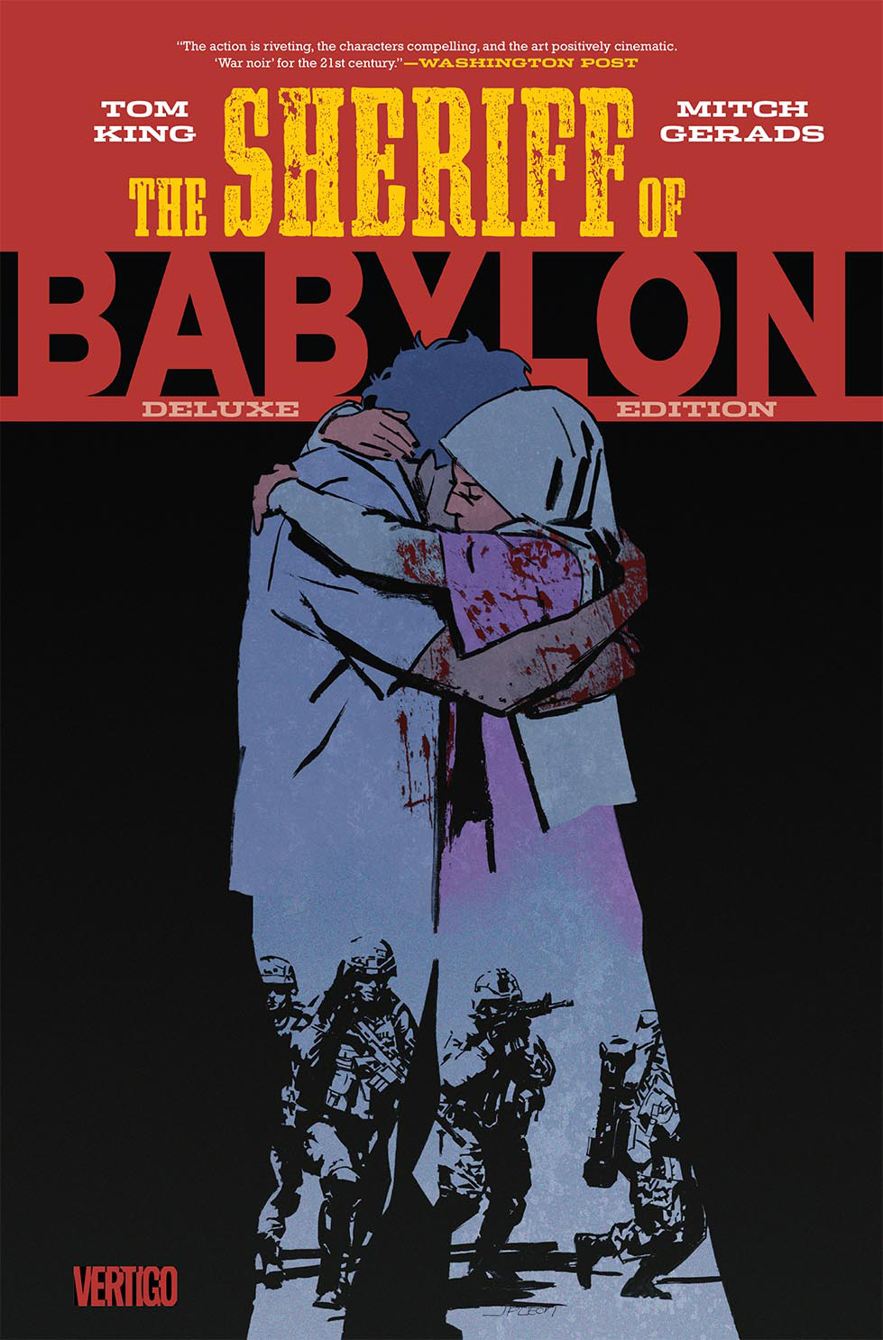 SHERIFF OF BABYLON DELUXE ED HC (MR)