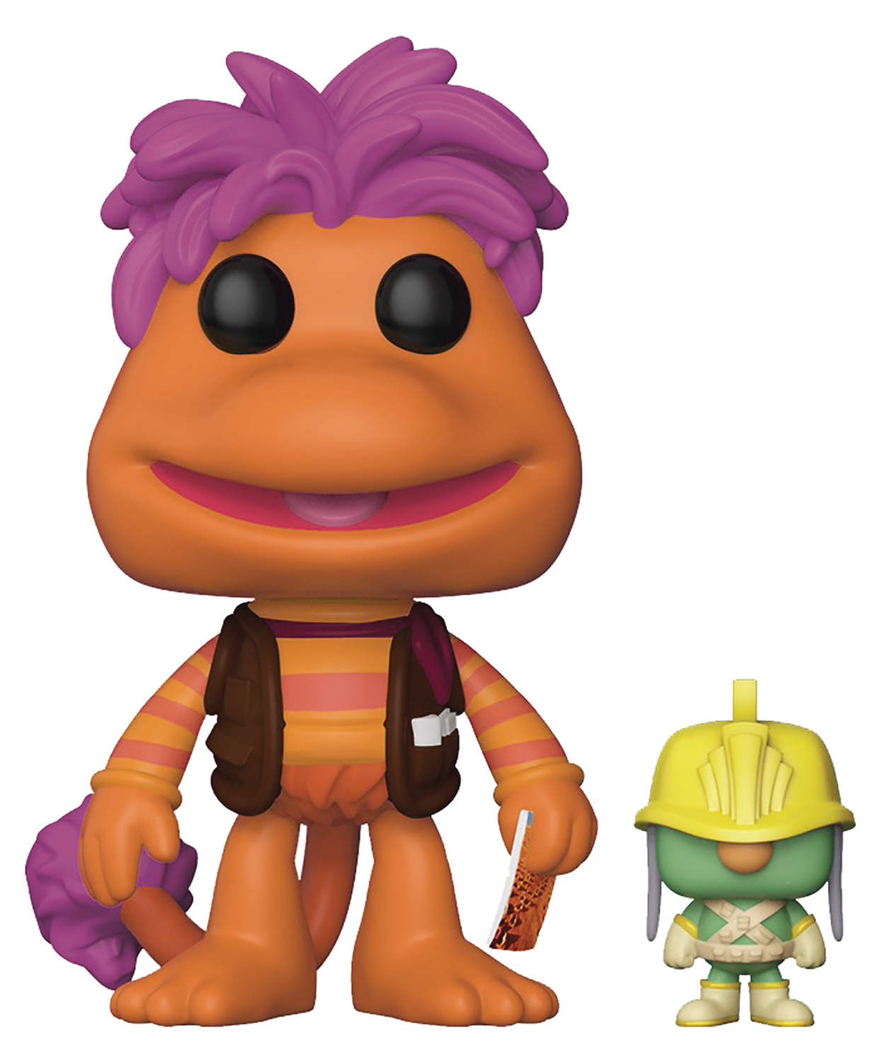 POP FRAGGLE ROCK GOBO W/DOOZER VINYL FIGURE