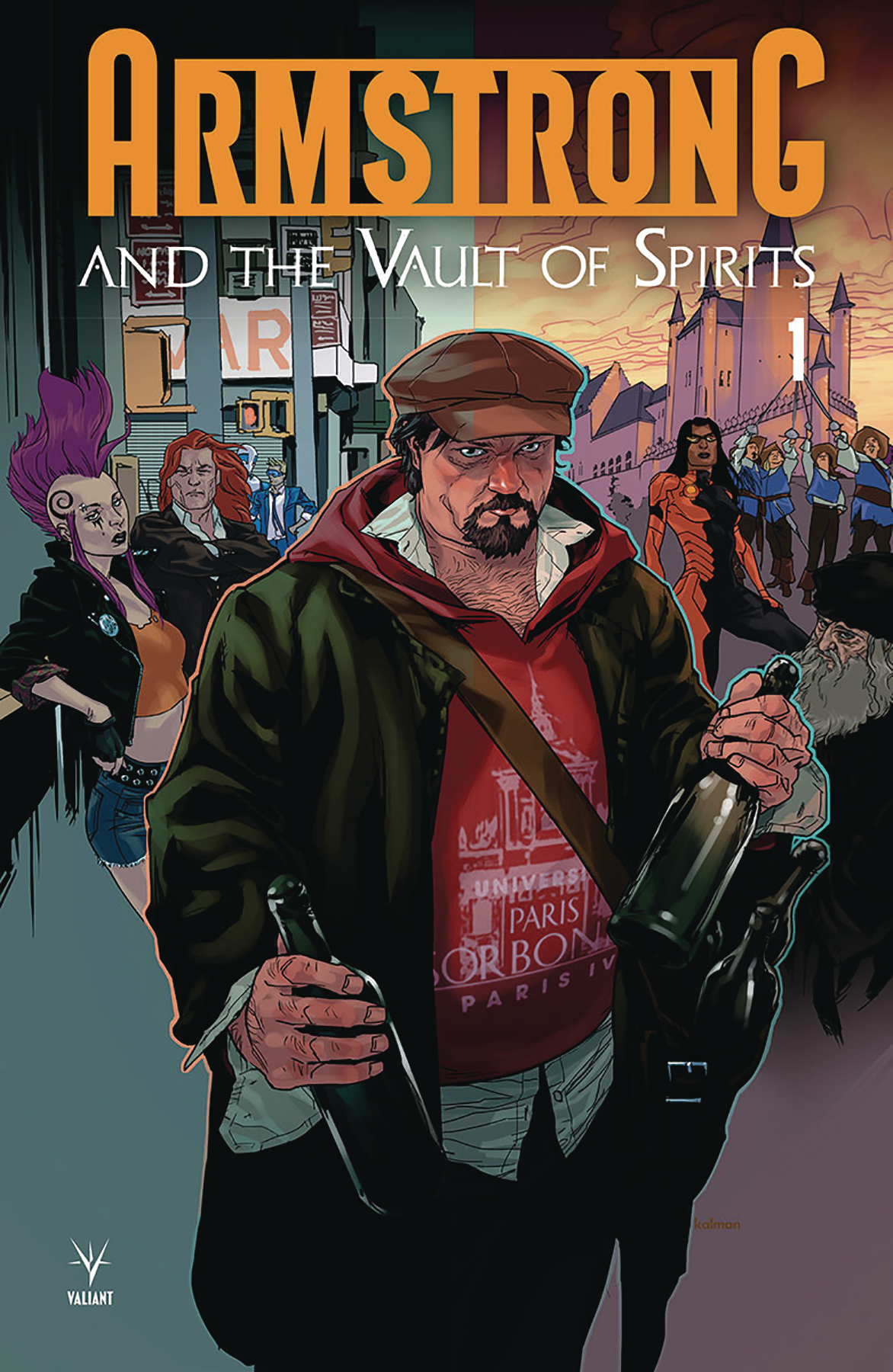 Armstrong and the Vault of Spirit