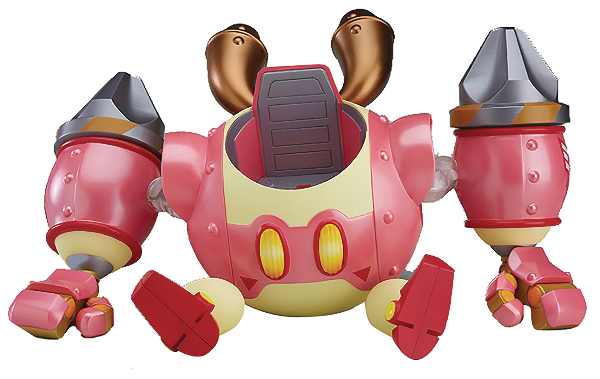 SEP178729 - KIRBY PLANET ROBOT ARMOUR NENDOROID MORE SET - Previews on