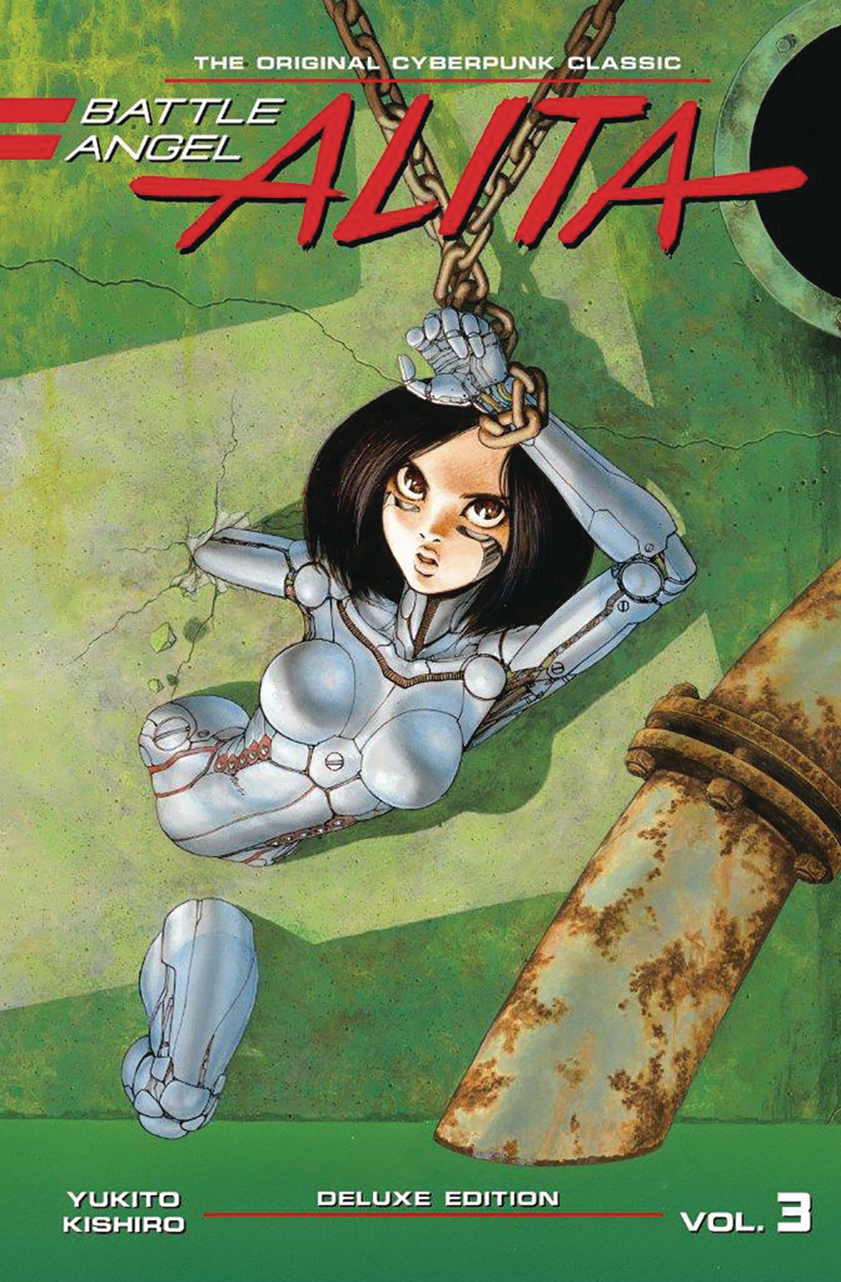 BATTLE ANGEL ALITA DELUXE ED HC VOL 03 (JAN181760)