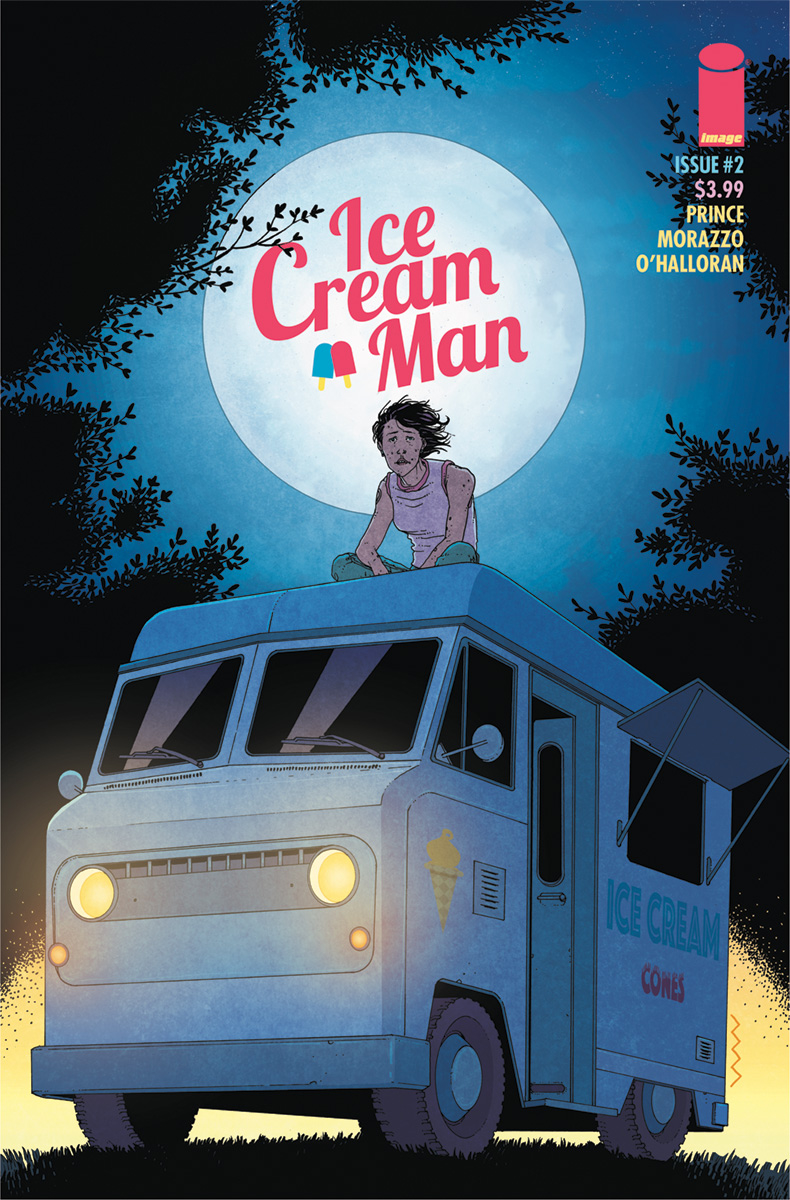 (USE JAN188318) ICE CREAM MAN #2 CVR A MORAZZO & OHALLORAN (