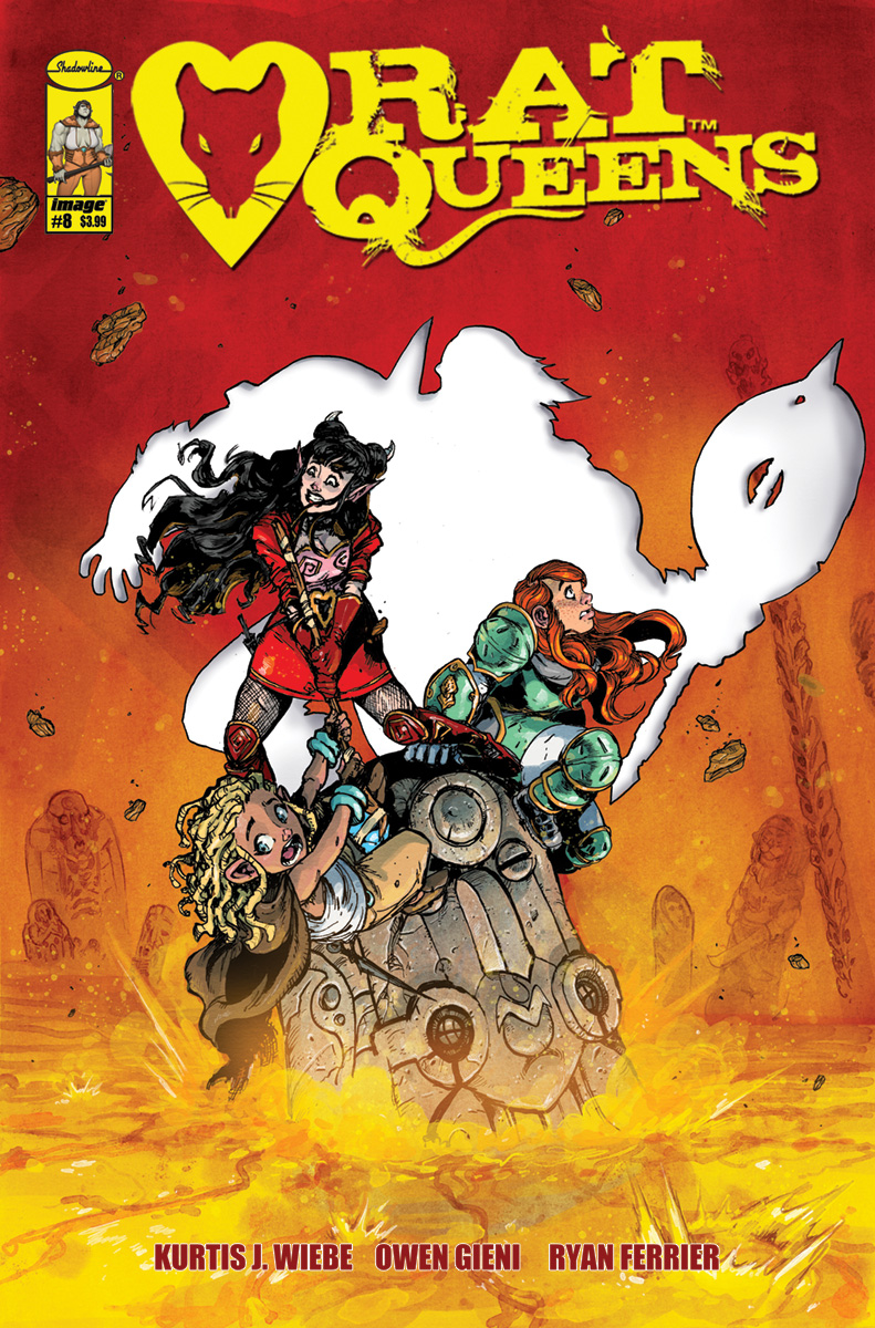 RAT QUEENS #8 CVR A GIENI (MR)