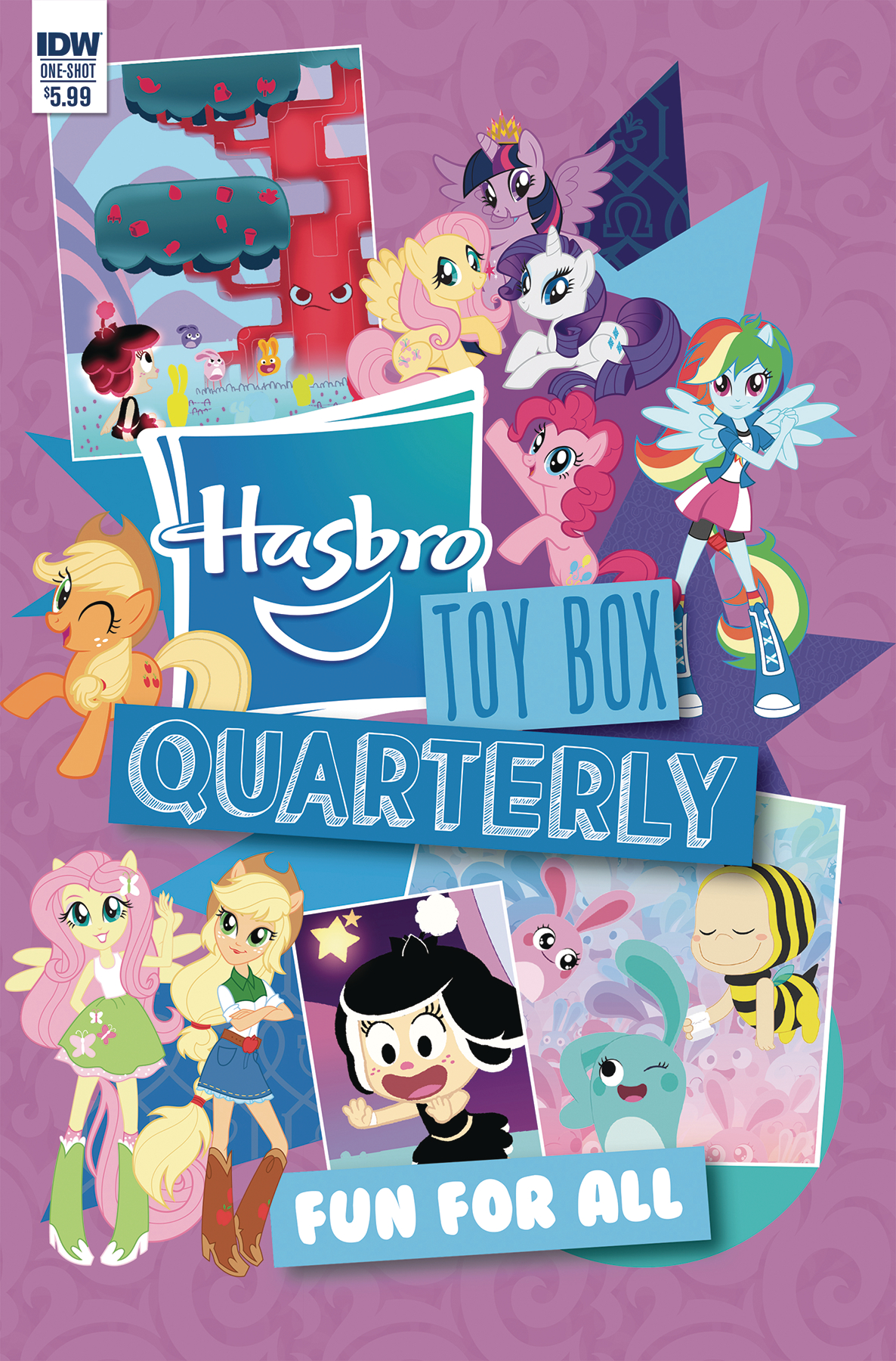 HASBRO TOYBOX QUARTERLY FUN FOR ALL