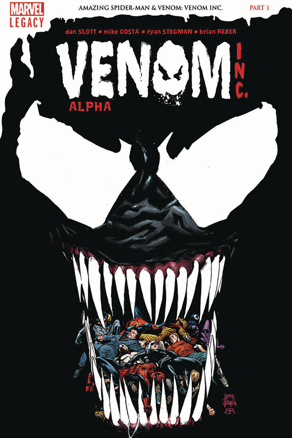 DF AMAZING SPIDER-MAN VENOM INC ALPHA #1 ROMITA SGN