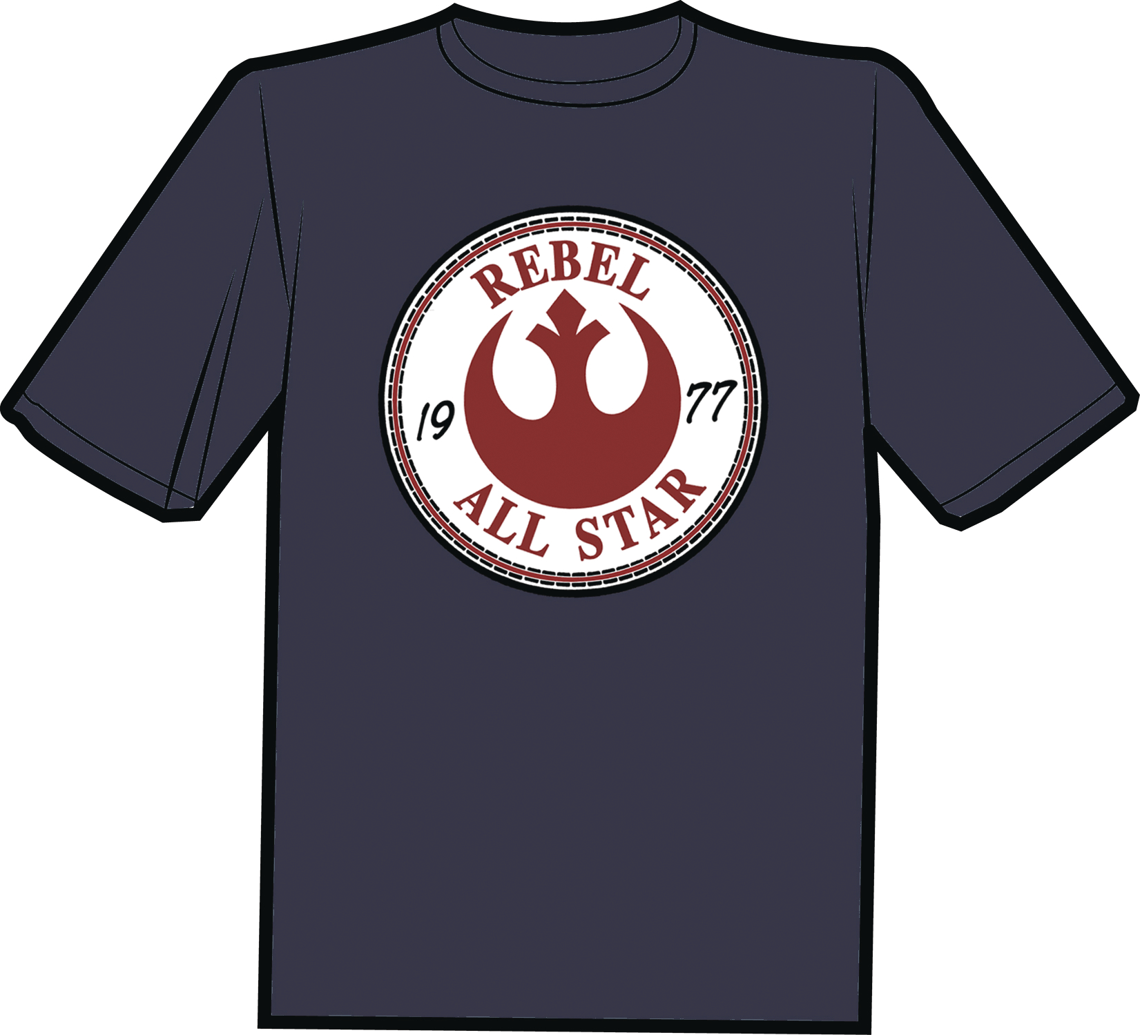 REBEL ALL STARS T/S SM