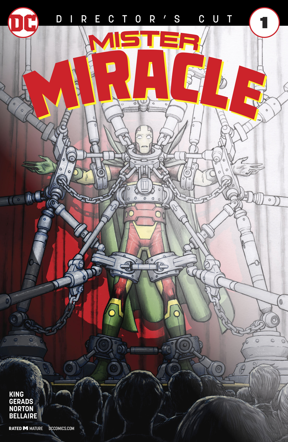 MISTER MIRACLE DIRECTORS CUT #1 (MR)