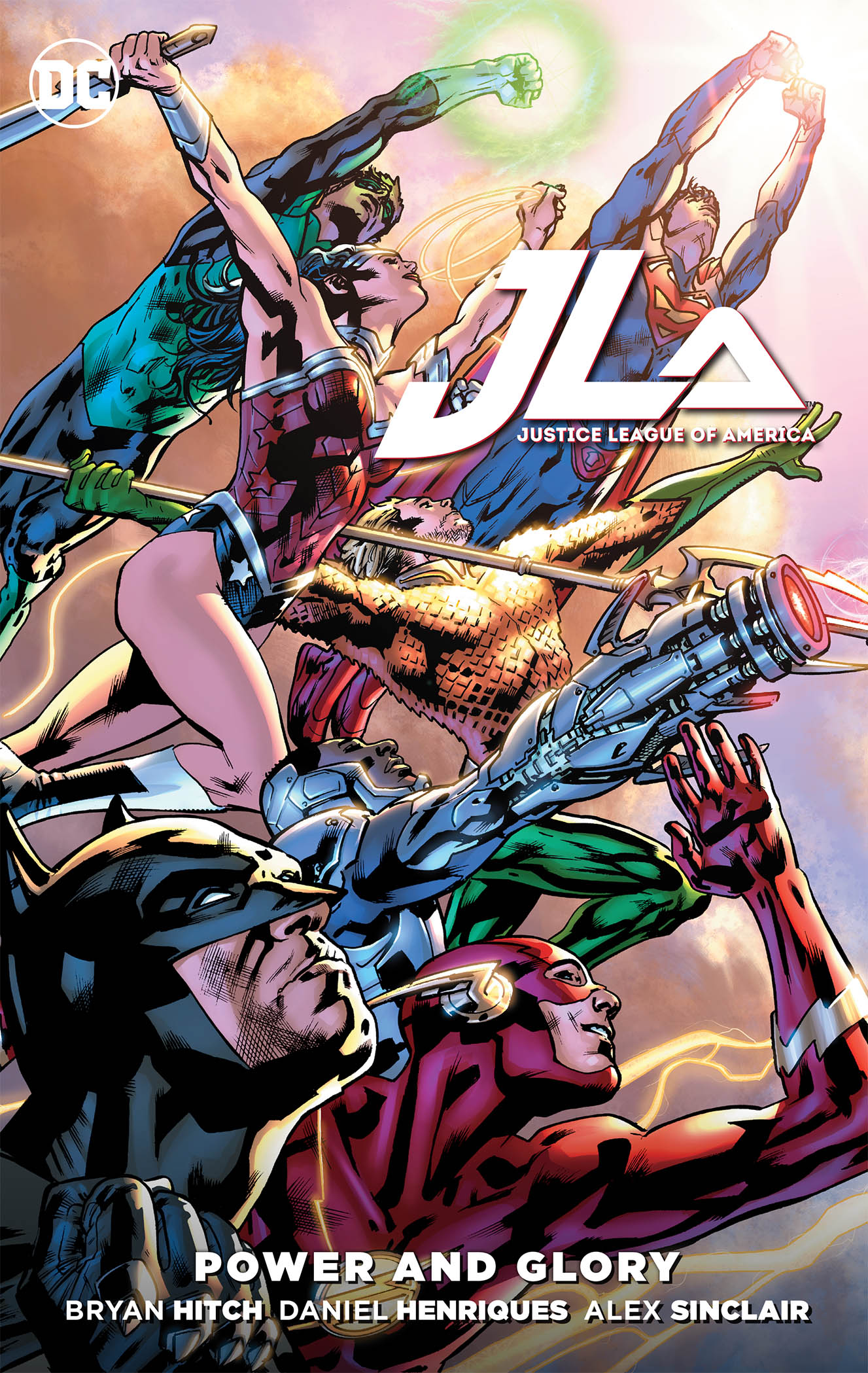 JUSTICE LEAGUE POWER & GLORY TP