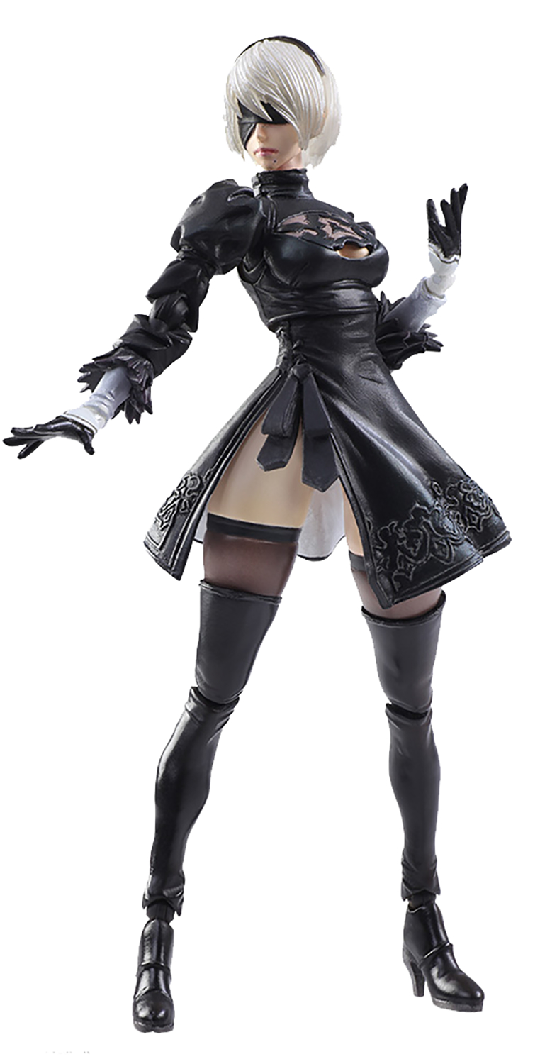NIER AUTOMATA BRING ARTS 2B & MACHINE LIFEFORM AF SET