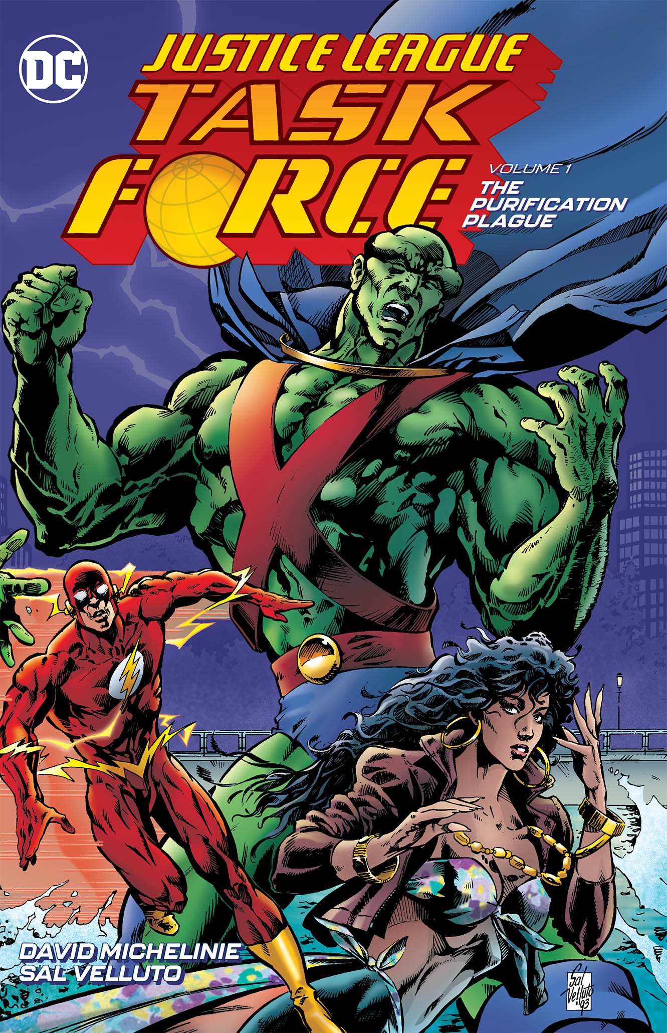 JUSTICE LEAGUE TASK FORCE TP VOL 01 PURIFICATION PLAGUE