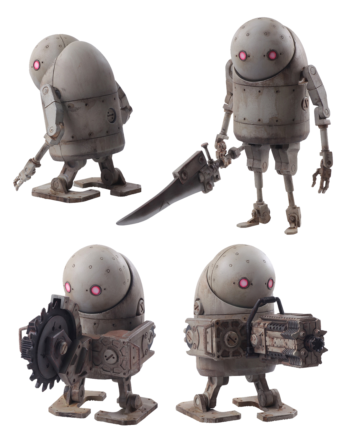 NIER AUTOMATA MACHINE LIFEFORM AF SET