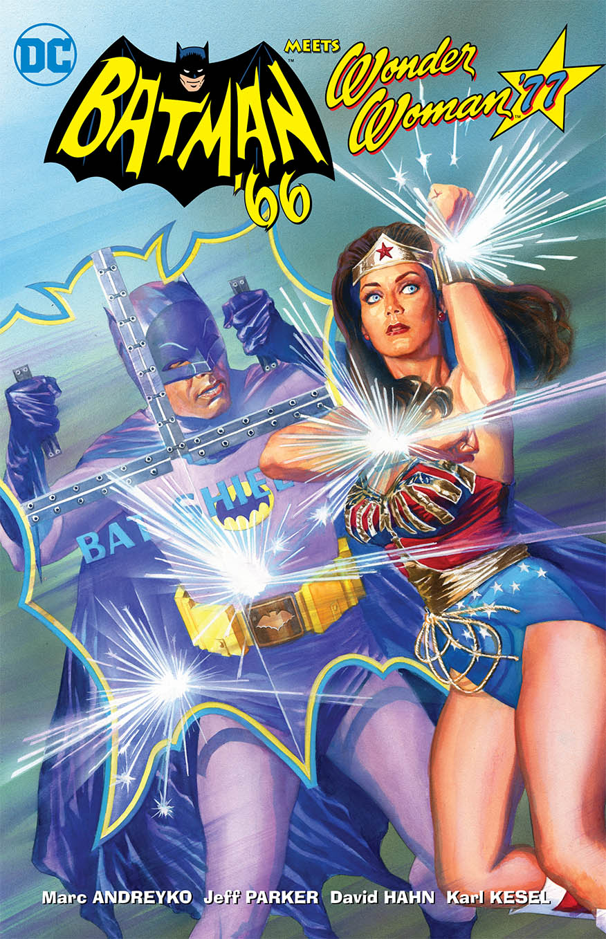 BATMAN 66 MEETS WONDER WOMAN 77 TP