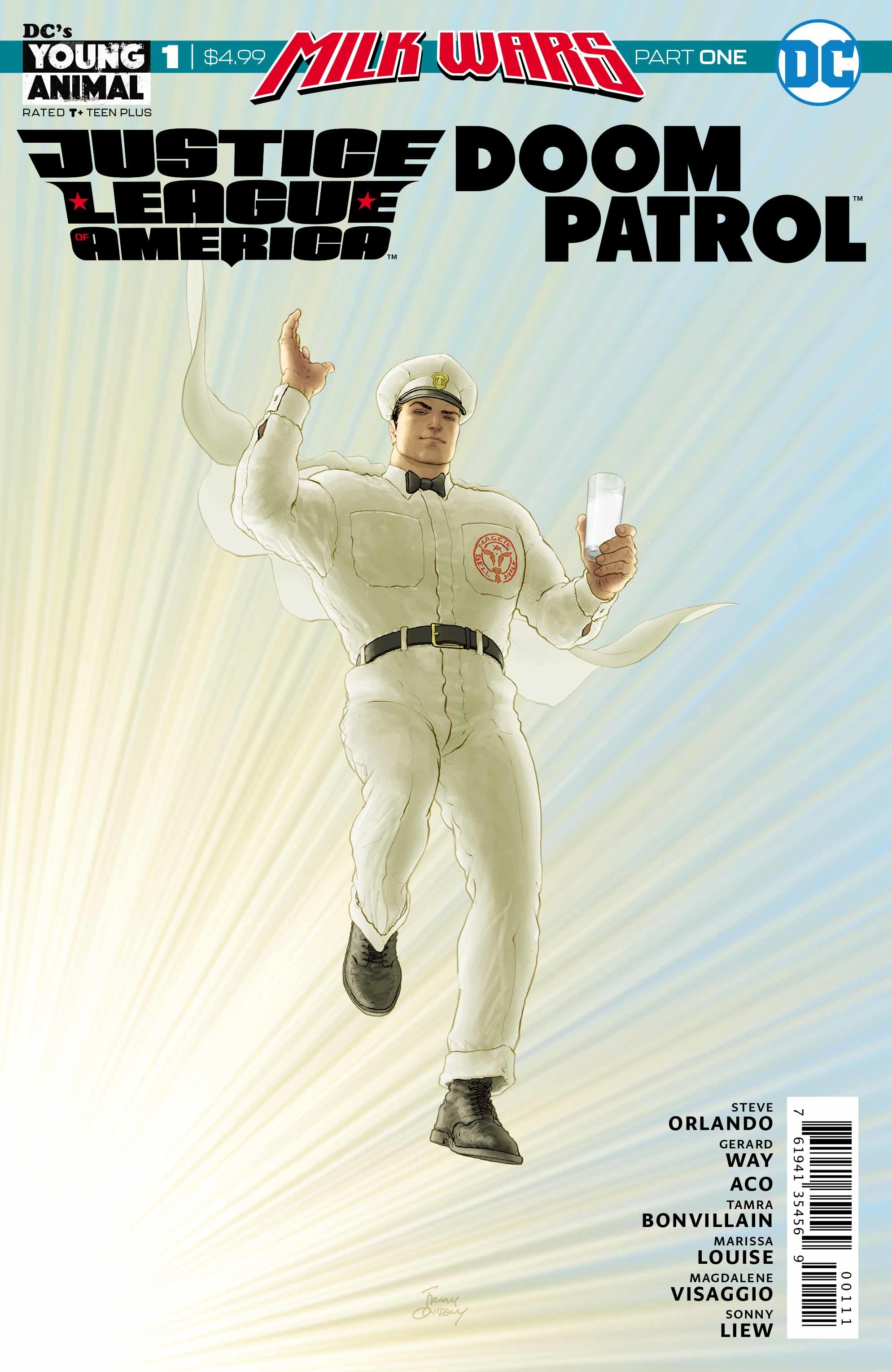 JLA Doom Patrol Special