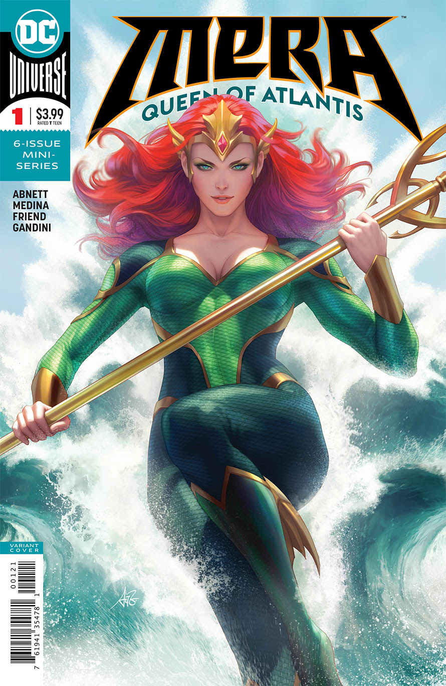 MERA QUEEN OF ATLANTIS #1 (OF 6) VAR ED