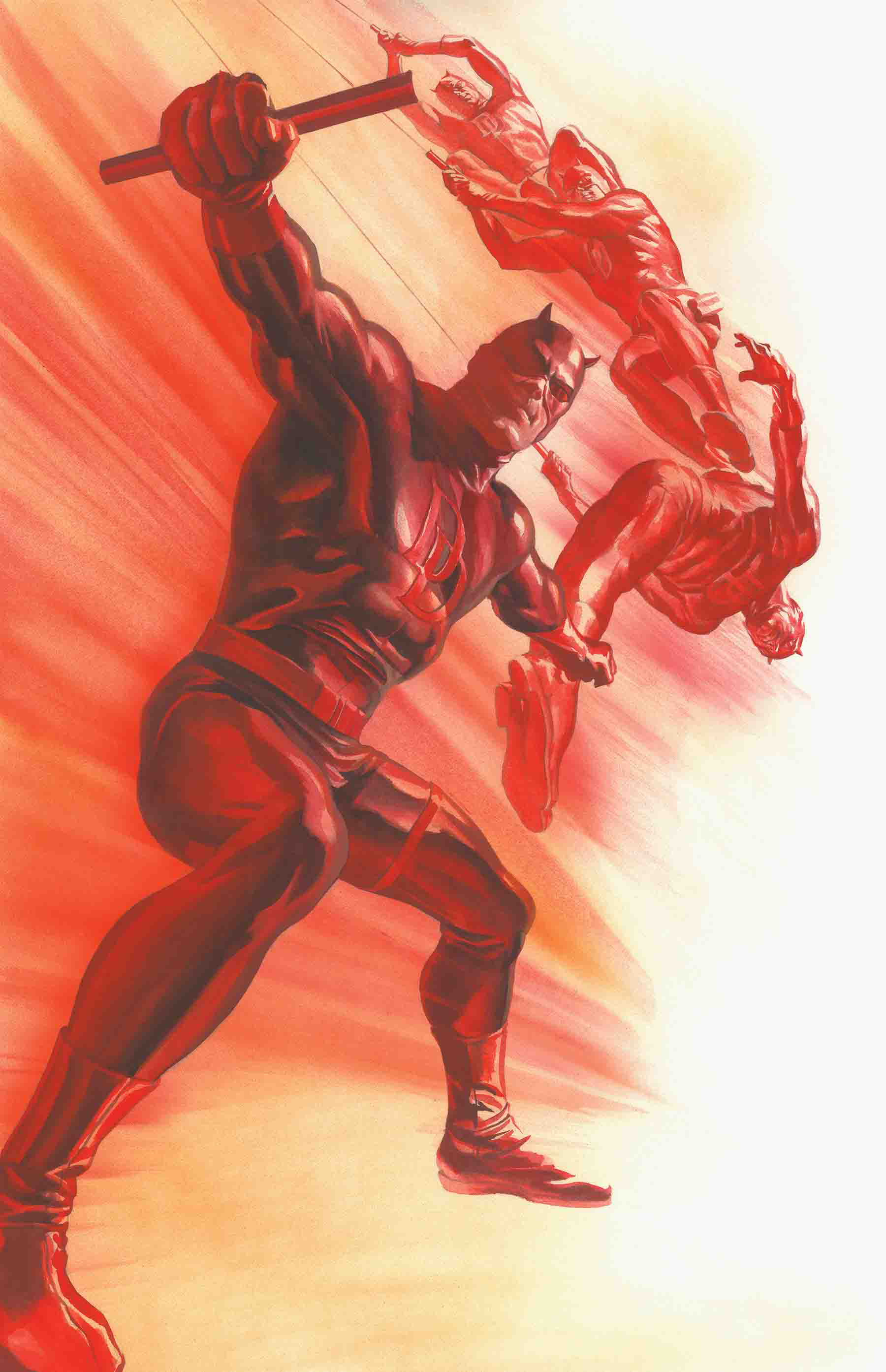 DAREDEVIL #600 BY ALEX ROSS POSTER