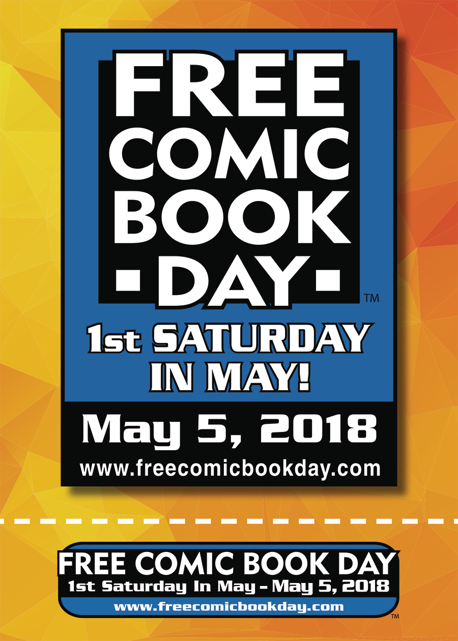 FCBD 2018 FREE SHELF TALKER