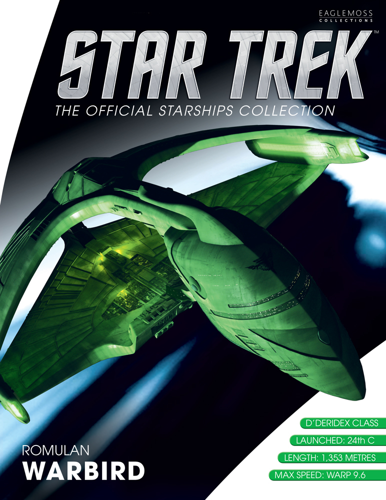 STAR TREK STARSHIPS BEST OF FIG #4 ROMULAN WARBIRD