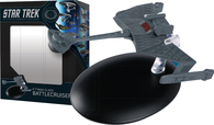 STAR TREK STARSHIPS BEST OF FIG #6 KTINGA-CLASS BATTLE CRUIS