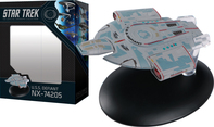 STAR TREK STARSHIPS BEST OF FIG #7 USS DEFIANT NX-74205