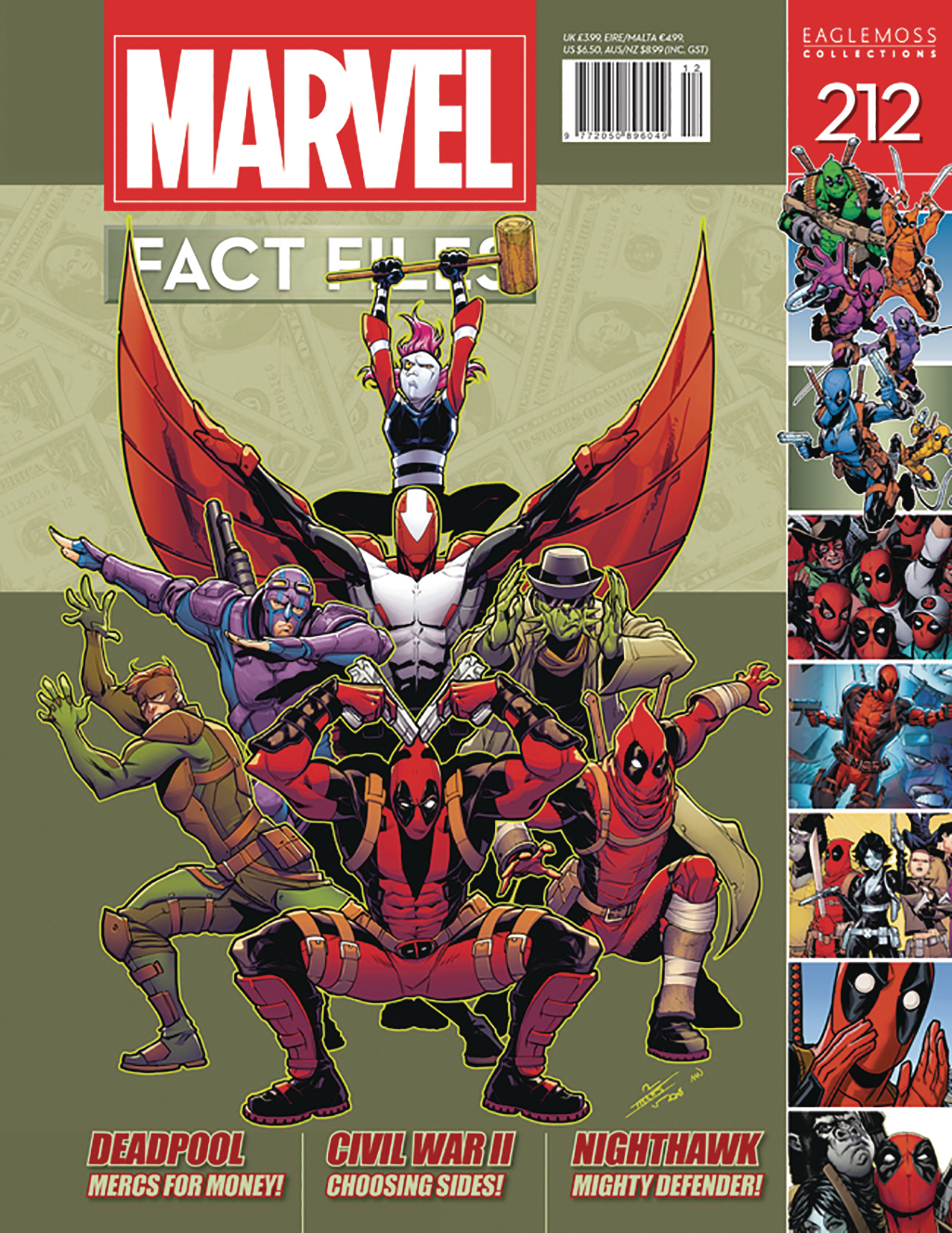 MARVEL FACT FILES #212