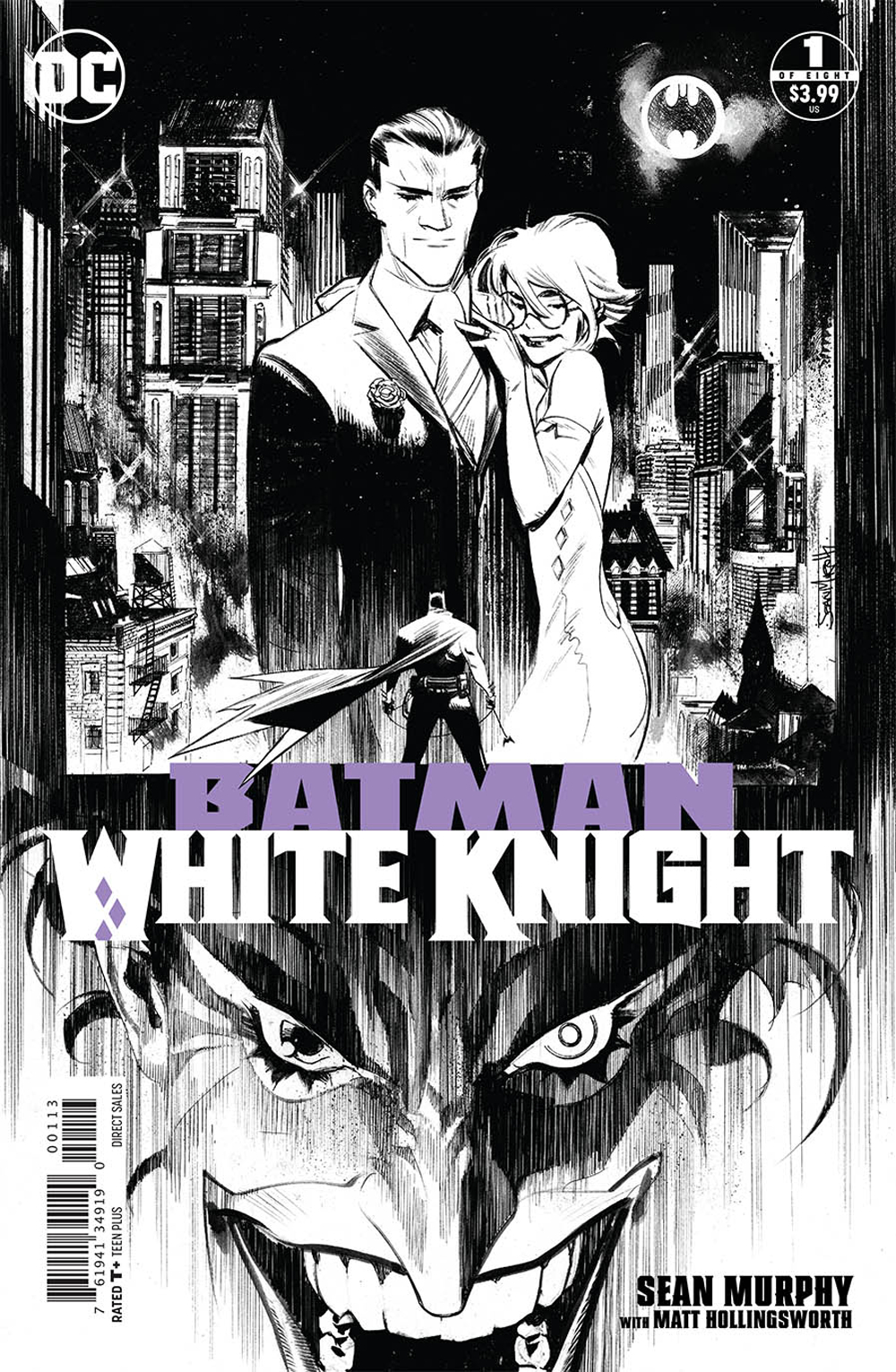 BATMAN WHITE KNIGHT #1 (OF 8) 3RD PTG