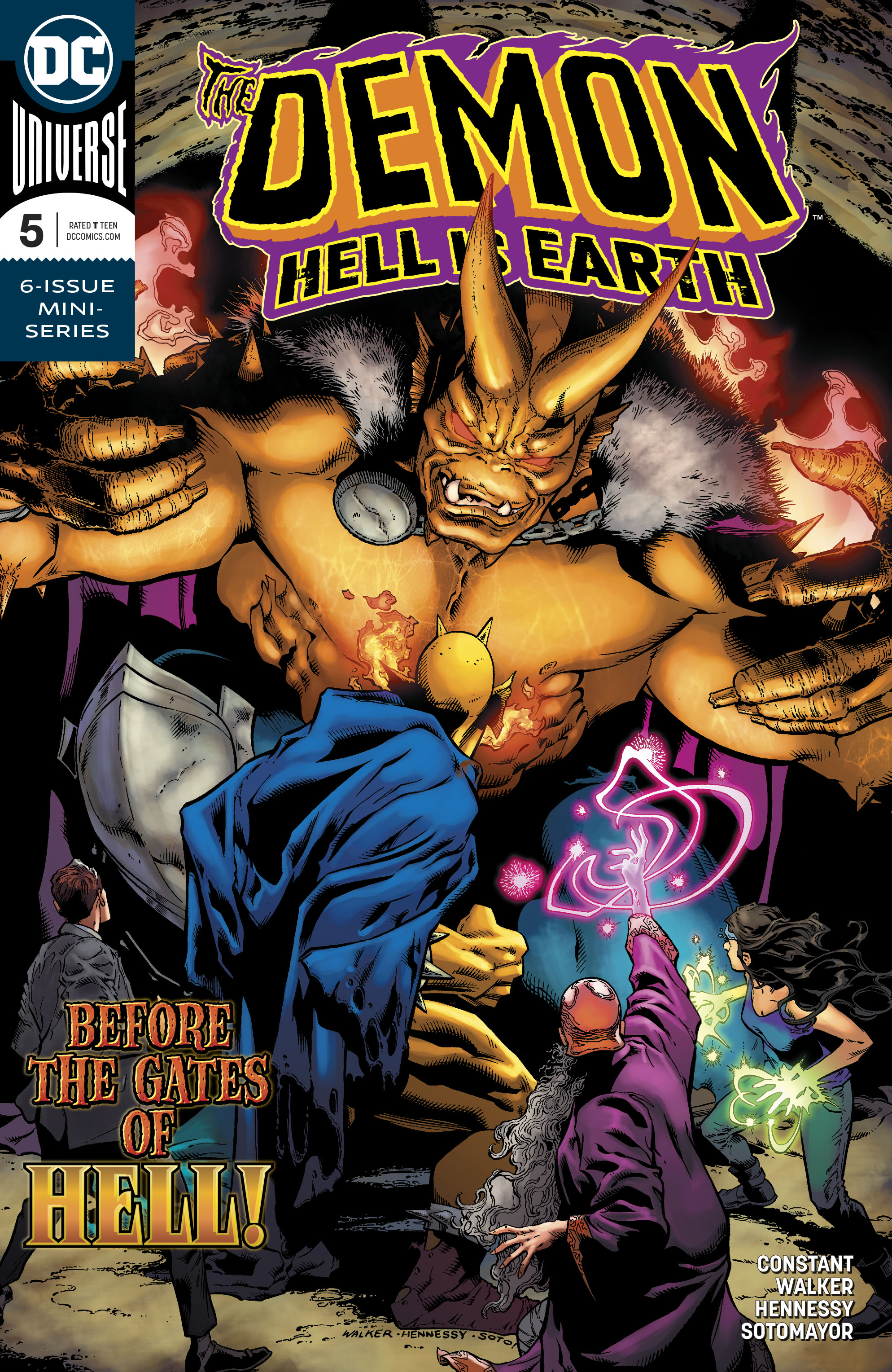 DEMON HELL IS EARTH #5 (OF 6)