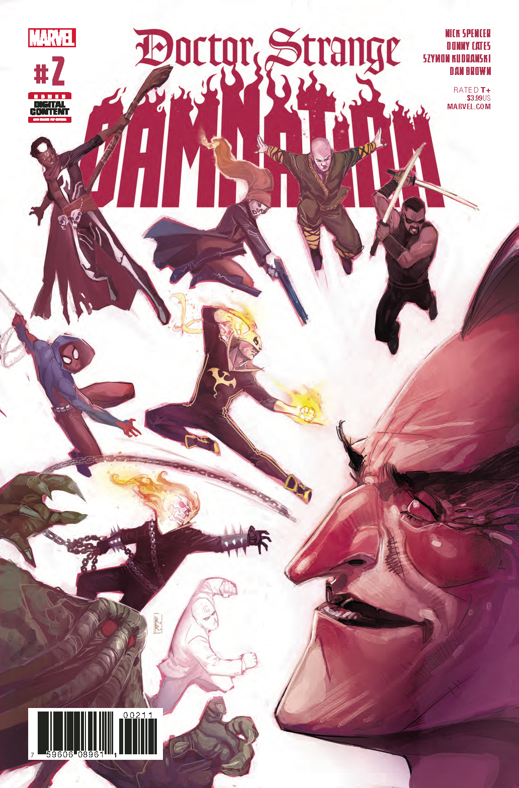 DOCTOR STRANGE DAMNATION #2