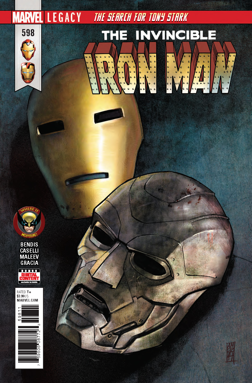 INVINCIBLE IRON MAN #598 LEG WW