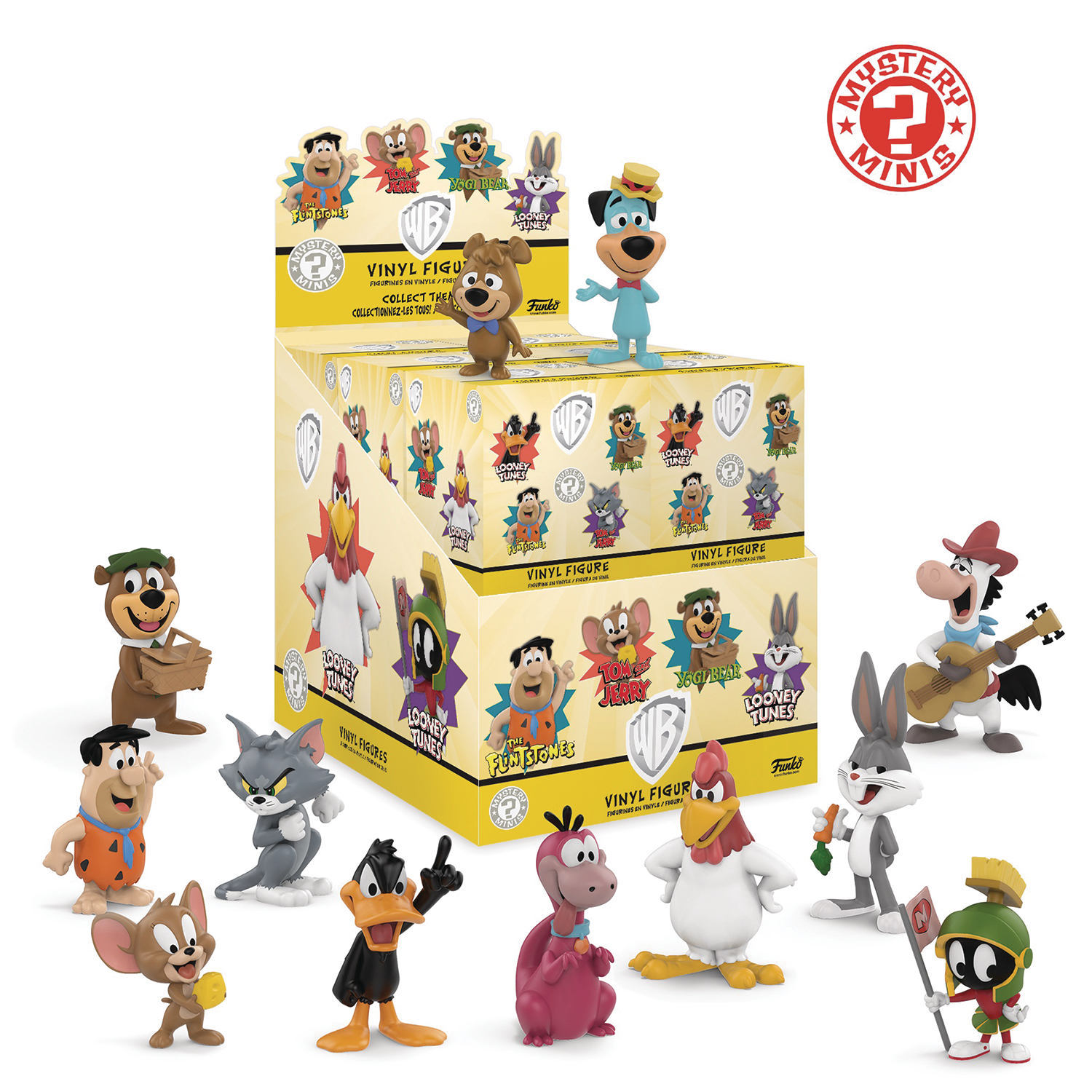 MYSTERY MINIS WB SATURDAY MORNING CARTOONS 12PC BMB DISP