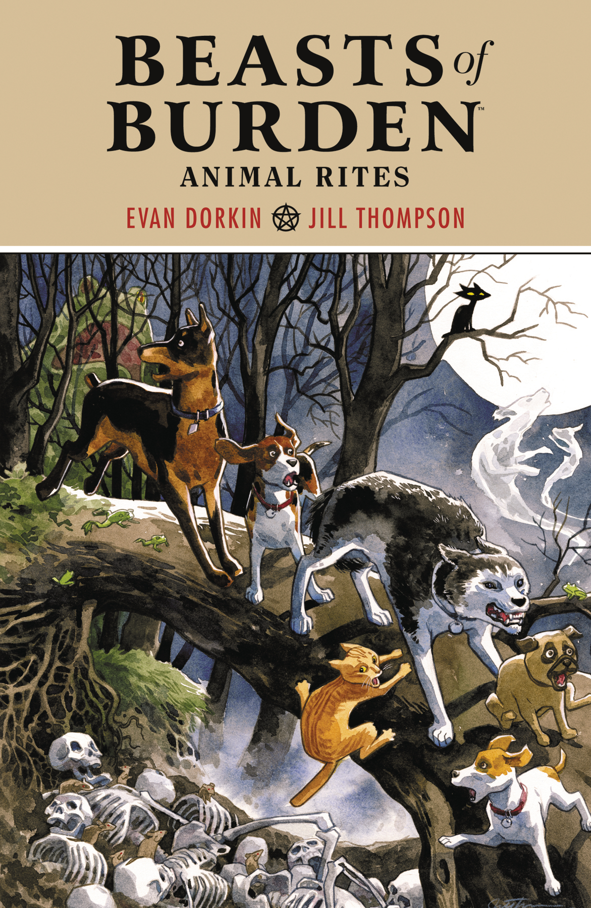 BEASTS OF BURDEN ANIMAL RITES TP (JAN180121)