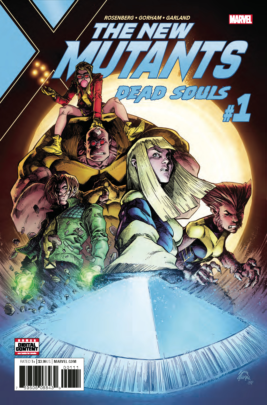 NEW MUTANTS DEAD SOULS #1