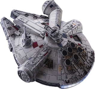 STAR WARS EP8 EA-035 FLOATING MILLENNIUM FALCON PX AF
