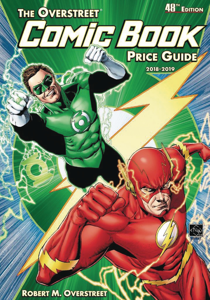 OVERSTREET COMIC BK PG SC VOL 48 FLASH GREEN LANTERN