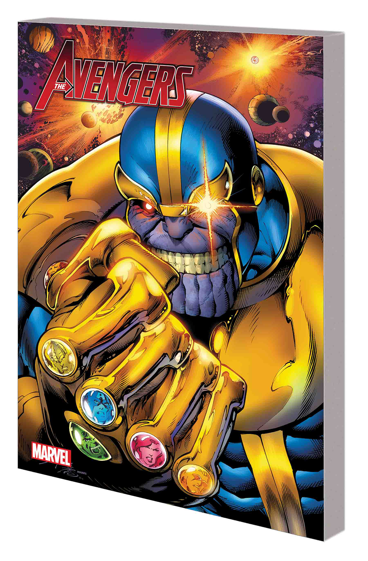 Jan181078 Avengers Vs Thanos Digest Tp Previews World