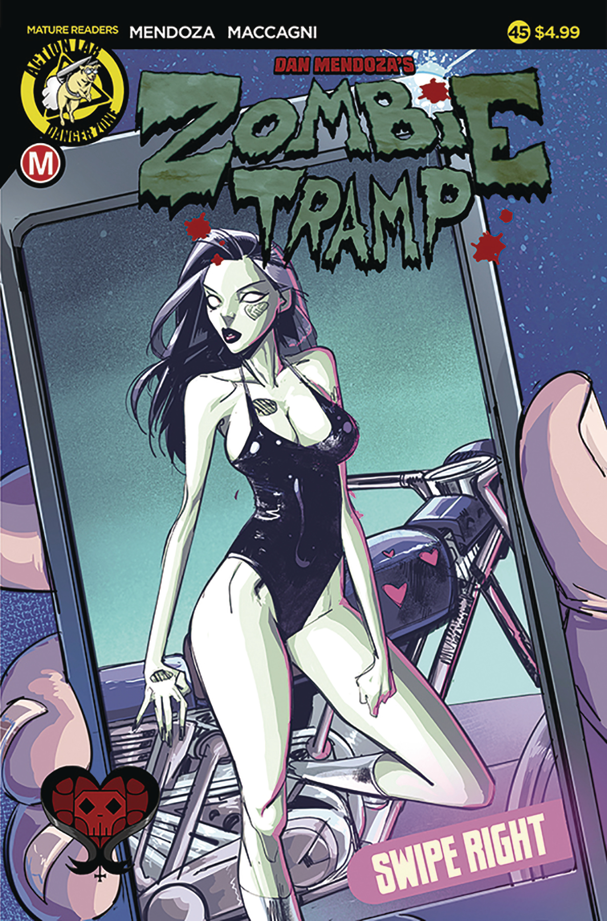 ZOMBIE TRAMP ONGOING #45 CVR A CELOR (MR)