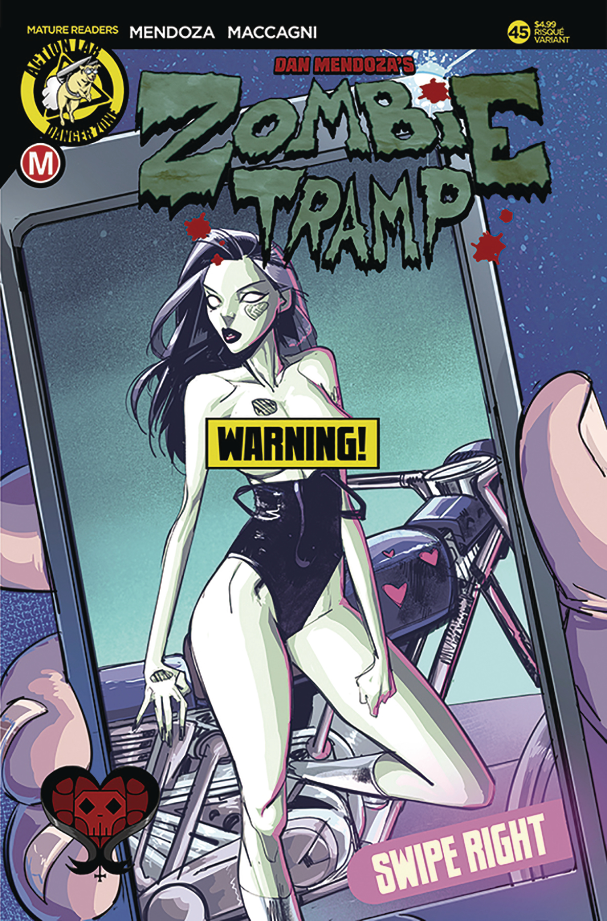 ZOMBIE TRAMP ONGOING #45 CVR B CELOR RISQUE (MR)