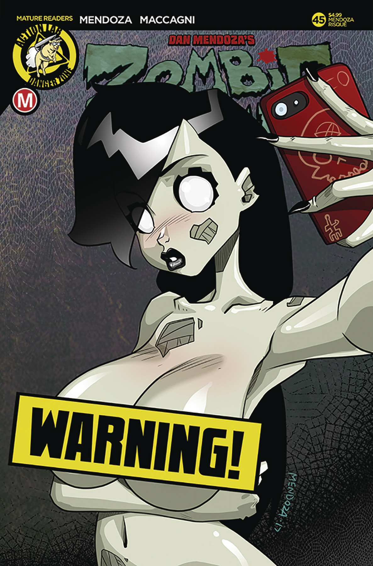 ZOMBIE TRAMP ONGOING #45 CVR F MENDOZA RISQUE (MR)
