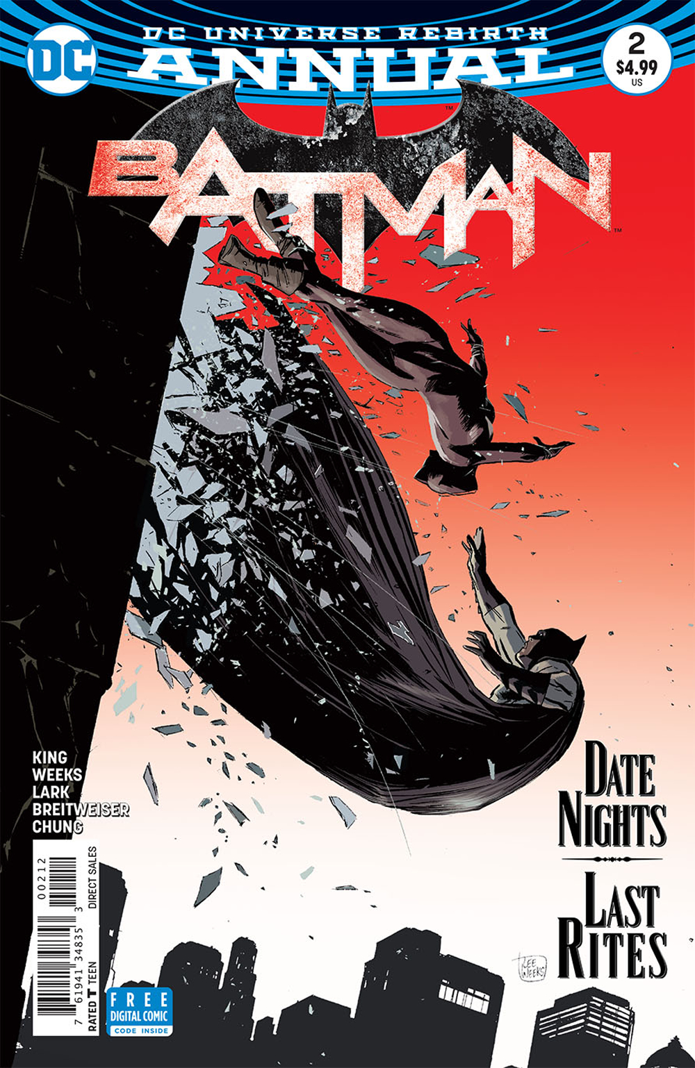 BATMAN ANNUAL #2 2ND PTG