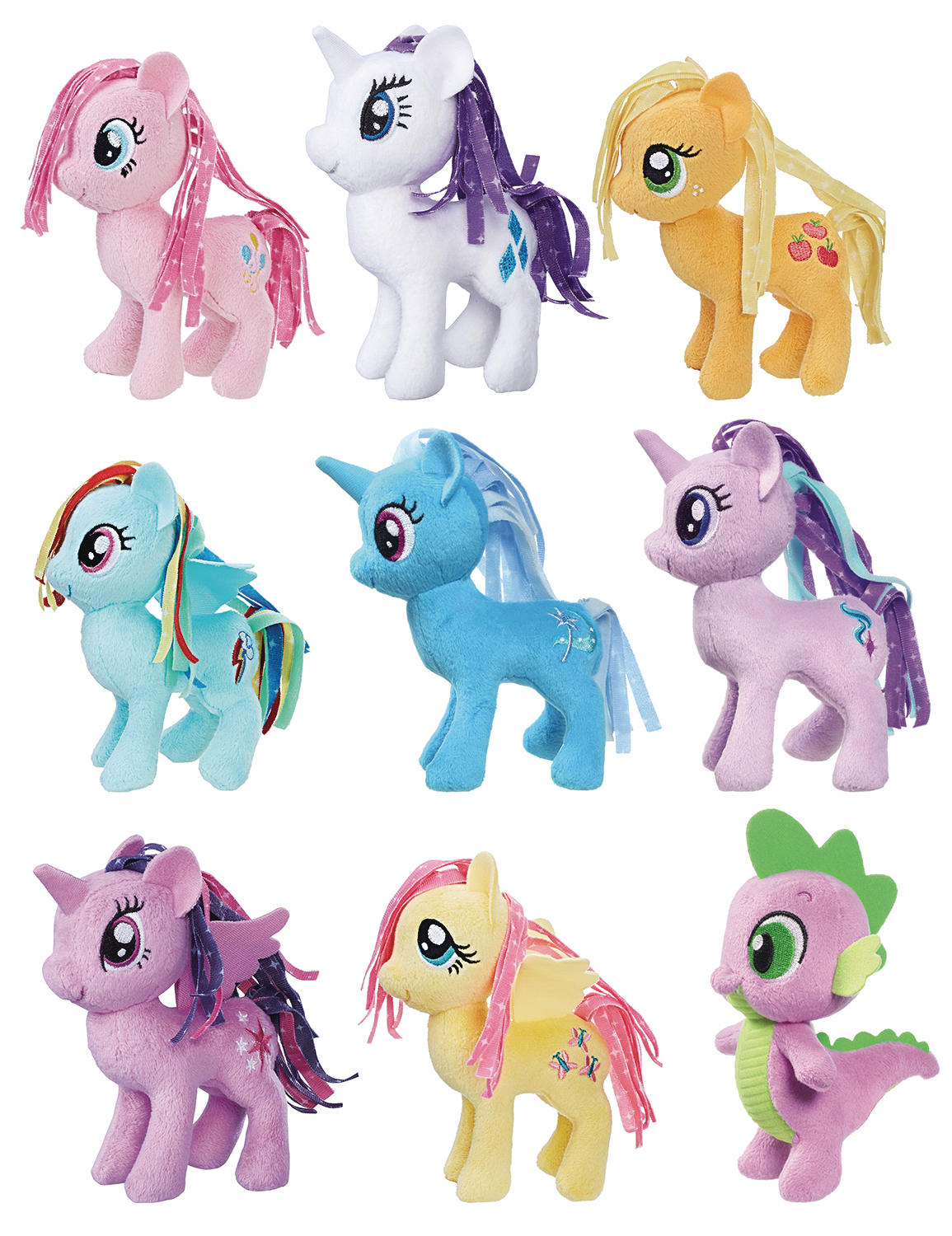 MY LITTLE PONY 5IN SMALL PLUSH ASST 201801