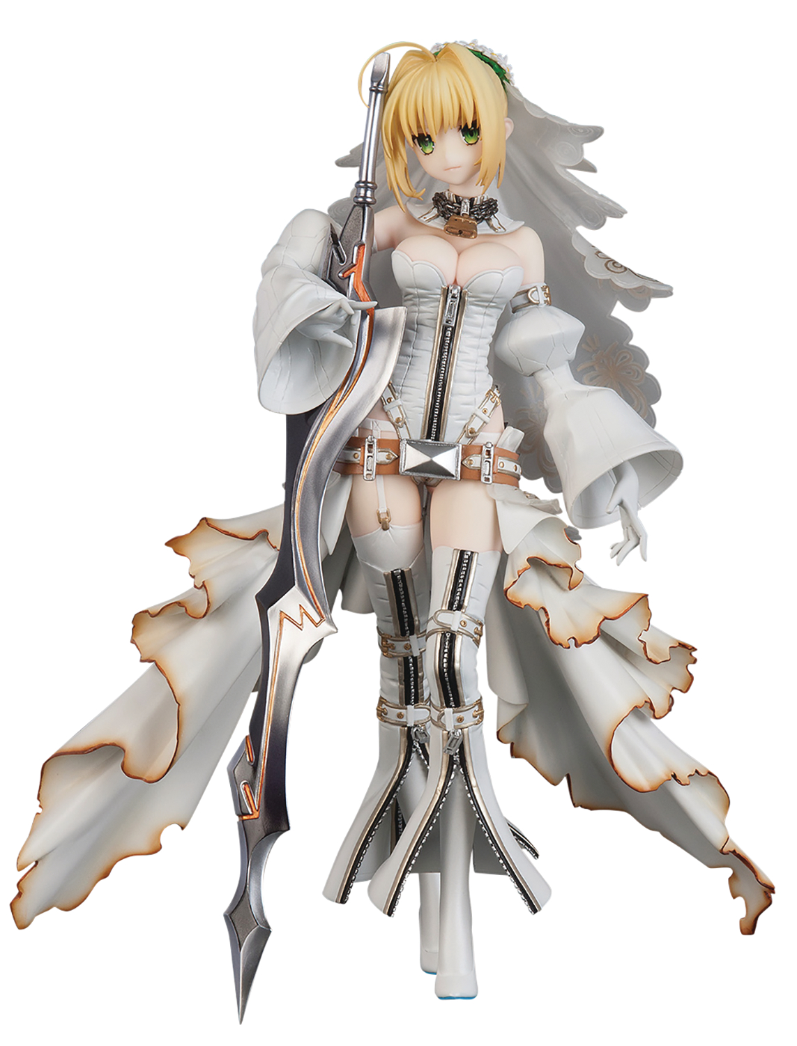 FATE GRAND ORDER SABER NERO CLAUDIUS PVC FIG BRIDE VER