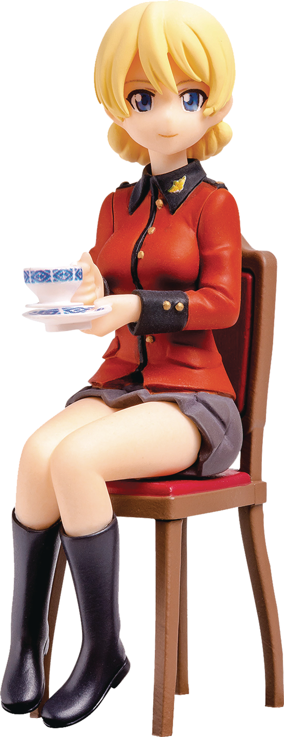 GIRLS UND PANZER PLAMX MF-22 DARJEELING 1/20 PVC FIG