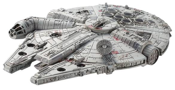 HW ELITE STAR WARS DIE-CAST MILLENNIUM FALCON