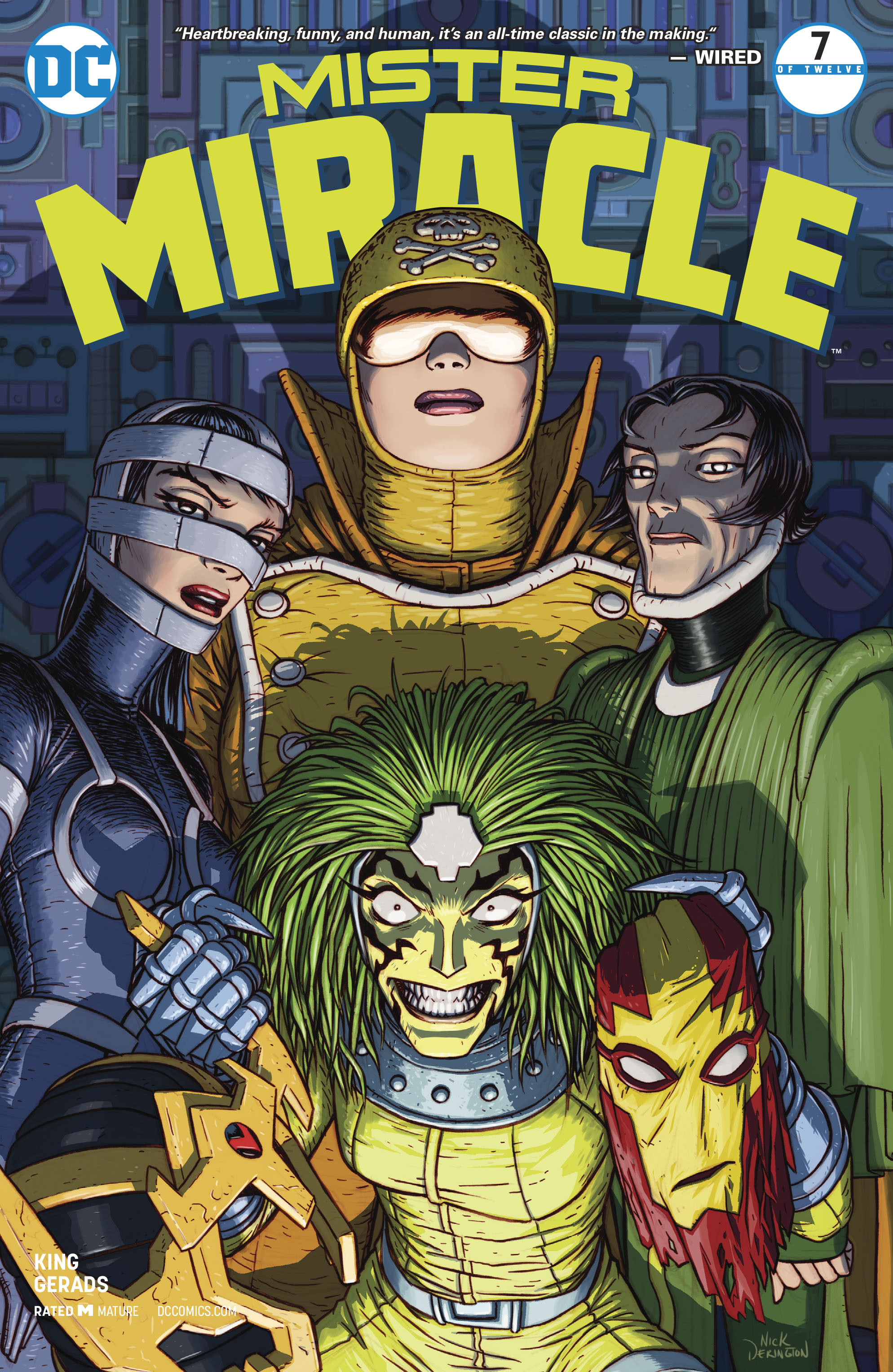 MISTER MIRACLE #7 (OF 12) (MR)
