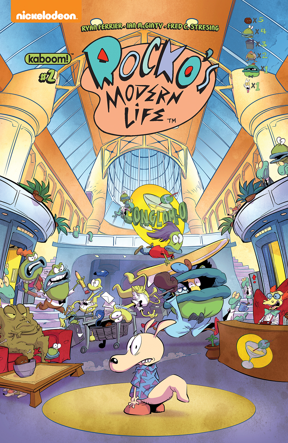 ROCKOS MODERN LIFE #2 FOC LOOK AND FIND BACHAN VAR