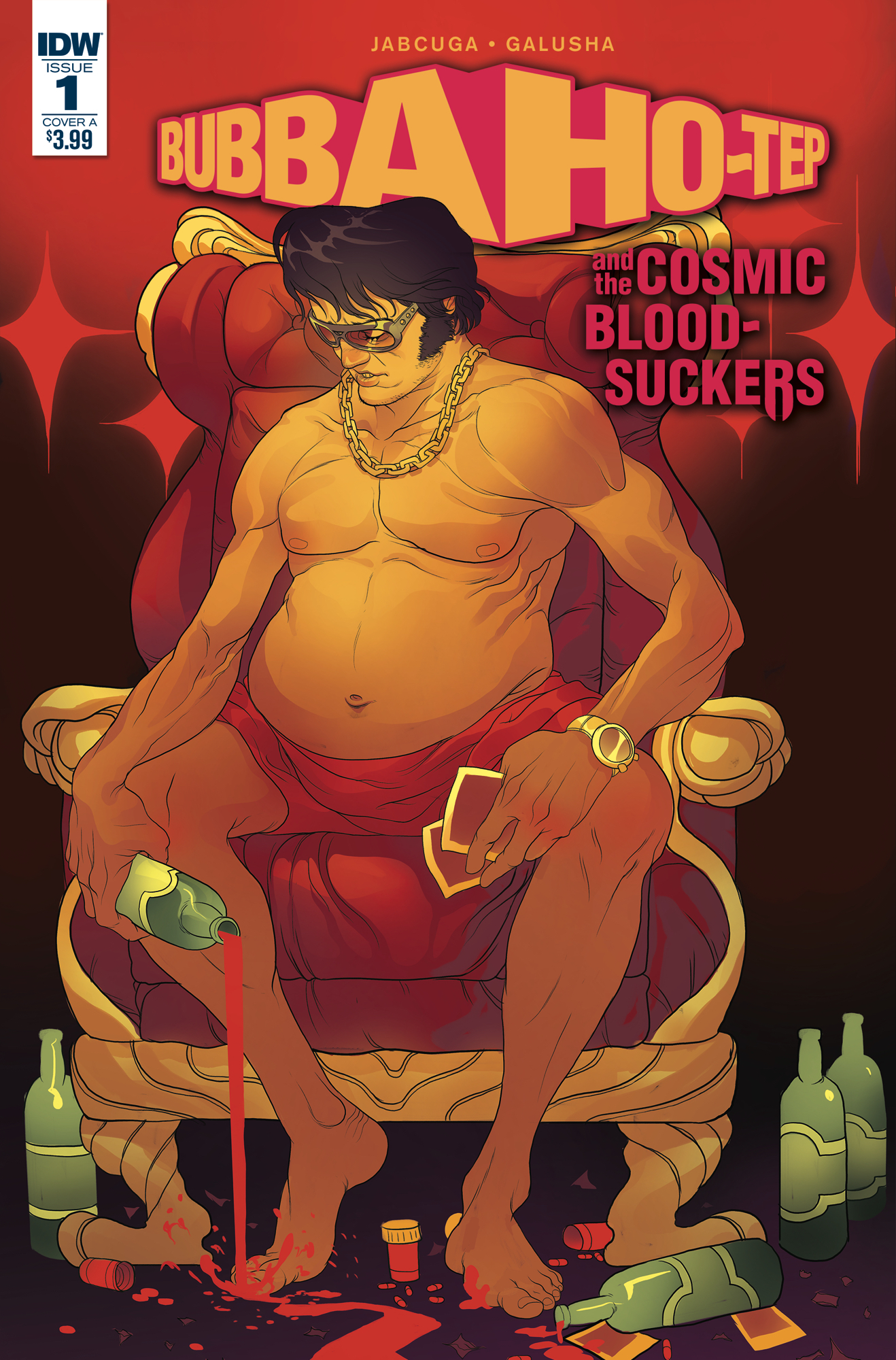 BUBBA HO-TEP & COSMIC BLOOD-SUCKERS #1 CVR A RIVAS